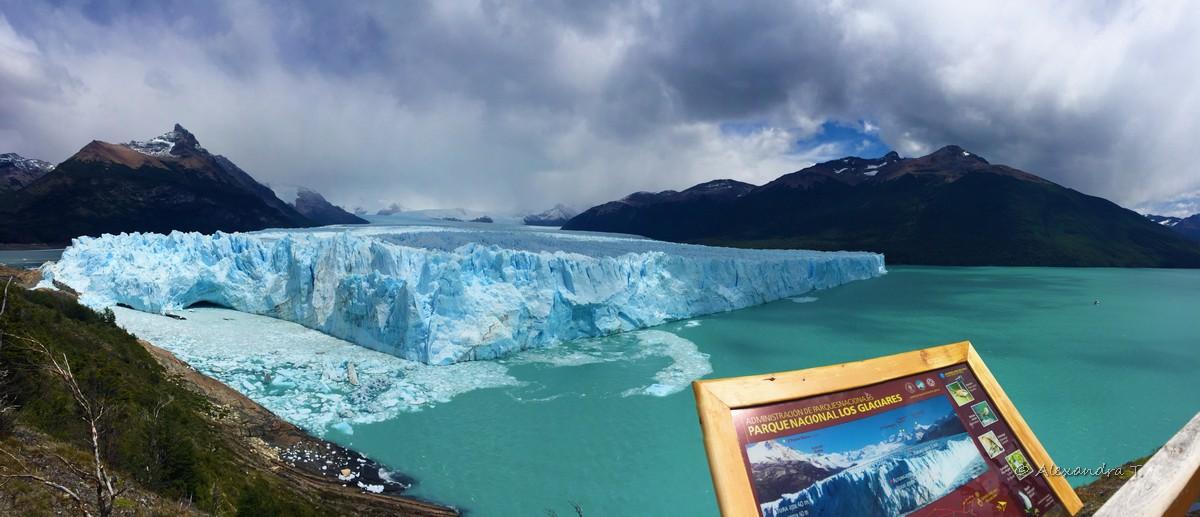 Perito Moreno, la facciata lunga 5km