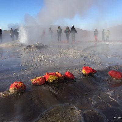 El geyser El tatio