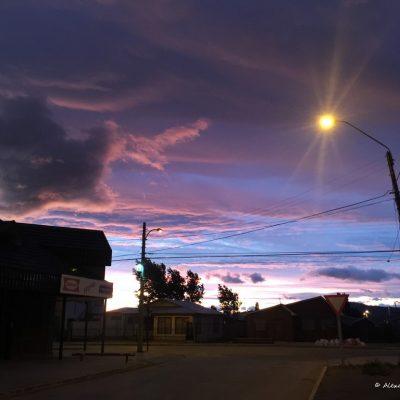 Tramonto patagonico